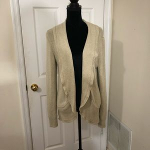 White House Black Market open front cardigan XL